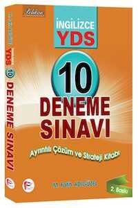 Pelikan Yayınları YDS İngilizce 10 Deneme Sınavı Ayrıntılı Çözüm ve Strateji Kitabı