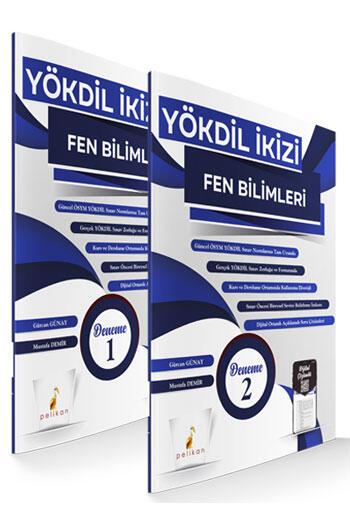 Pelikan Yayınları YÖKDİL İkizi Fen Bilimleri Dijital Çözümlü 2 Özgün Deneme Sınavı