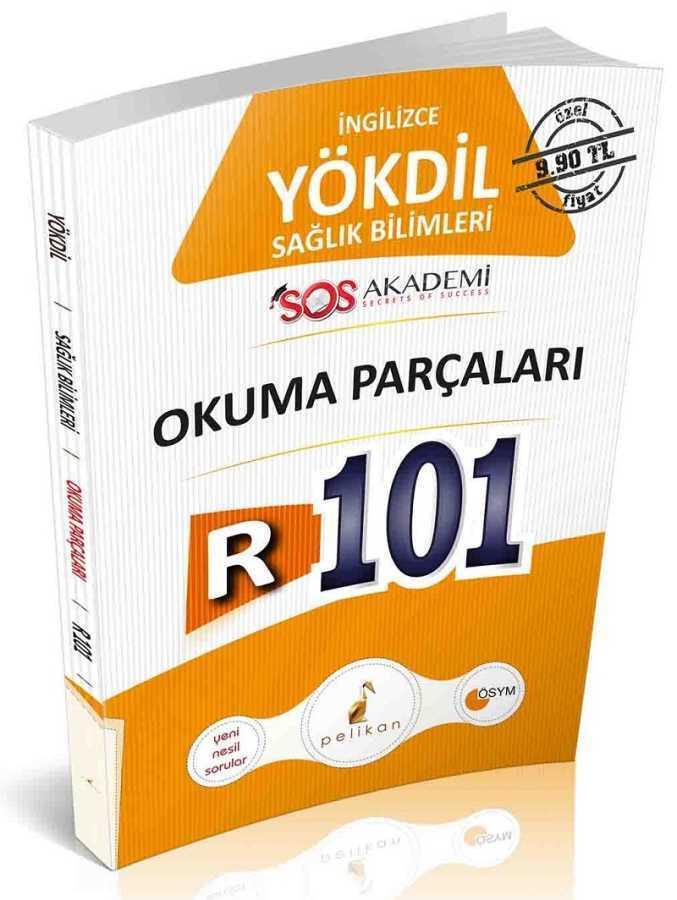 Pelikan Yayınları YÖKDİL İngilizce Sağlık Bilimleri R101 Okuma Parçaları