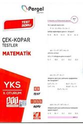 Pergel Yayınları - Pergel Yayınları AYT Matematik Çek Kopar Testler