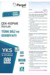 Pergel Yayınları - Pergel Yayınları AYT Türk Dili ve Edebiyatı Çek Kopar Testler