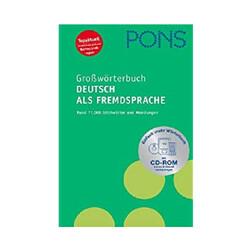 Pons - Pons Grossworterbuch Deutsch Als Fremdsprache