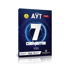 Puan Akademi Yayınları - Puan Yayınları AYT Sözel Video Çözümlü 7 Deneme