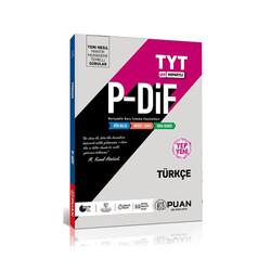 Puan Yayınları - Puan Yayınları TYT Türkçe PDİF Konu Anlatım Fasikülleri