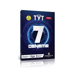 Puan Akademi Yayınları - Puan Yayınları TYT Video Çözümlü 7 Deneme