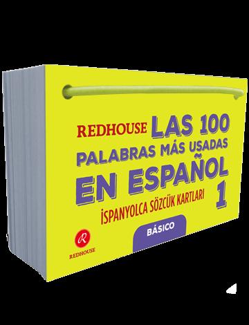 Redhouse Las 100 Palabras Mas Usadas En Espanol İspanyolca Sözcük Kartları 1