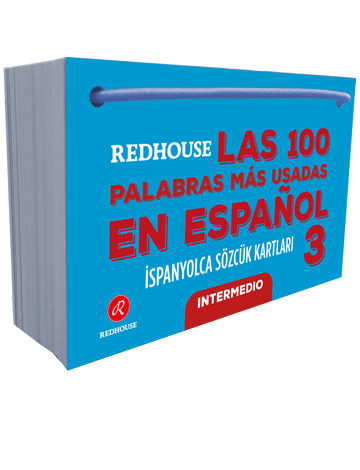 Redhouse Las 100 Palabras Mas Usadas En Espanol İspanyolca Sözcük Kartları 3