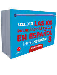 Redhouse Yayınevi - Redhouse Las 100 Palabras Mas Usadas En Espanol İspanyolca Sözcük Kartları 3