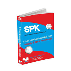 Roper Yayınları - Roper Yayınları SPK Lisanslama 1001 Dar Kapsamlı Sermaye Piyasası Mevzuatı ve Meslek Kuralları Düzey 1 Konut Gayrimenkul