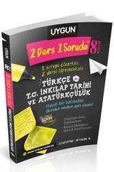 Sadık Uygun Yayınları - Sadık Uygun Yayınları 8. Sınıf 2 Ders 1 Soruda Türkçe ve T.C. İnkılap Tarihi ve Atatürkçülük