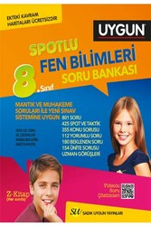 Sadık Uygun Yayınları - Sadık Uygun Yayınları 8. Sınıf Fen Bilimleri Spotlu Soru Bankası