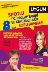 Sadık Uygun Yayınları - Sadık Uygun Yayınları 8. Sınıf T.C. İnkılap Tarihi ve Atatürkçülük Spotlu Soru Bankası