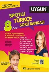 Sadık Uygun Yayınları - Sadık Uygun Yayınları 8. Sınıf Türkçe Spotlu Soru Bankası