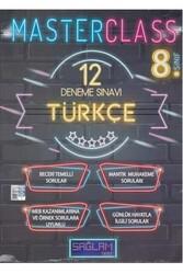 Sağlam Test Yayınları - Sağlam Test Yayınları 8. Sınıf Türkçe Master Class 12 Deneme Sınavı