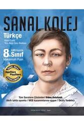 Sanal Kolej - Sanal Kolej 8. Sınıf LGS Türkçe Konu Özetli Yeni Nesil Soru Bankası