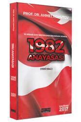 Savaş Yayınevi - Savaş Yayınları 1982 Anayasası 2017 Yeni Hali