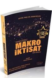 Savaş Yayınevi - Savaş Yayınları 2020 BEST OF Makro İktisat Tamamı Çözümlü Soru Bankası