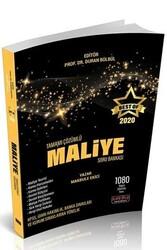 Savaş Yayınevi - Savaş Yayınları 2020 BEST OF Maliye Tamamı Çözümlü Soru Bankası