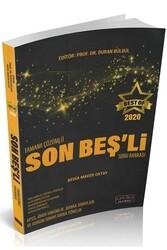 Savaş Yayınevi - Savaş Yayınları 2020 BEST OF Son Beşli Tamamı Çözümlü Soru Bankası