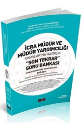 Savaş Yayınevi - Savaş Yayınları 2020 İcra Müdür ve Müdür Yardımcılığı Son Tekrar Soru Bankası 2. Baskı
