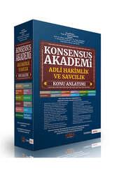 Savaş Yayınları 2021 KONSENSUS Akademi Adli Hakimlik ve Savcılık Konu Anlatımı - Thumbnail