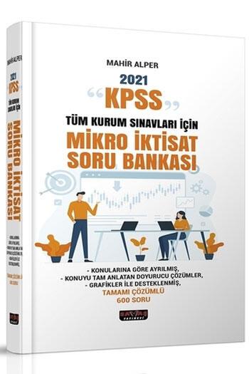 Savaş Yayınları 2021 KPSS ve Tüm Kurum Sınavları İçin Mikro İktisat Soru Bankası