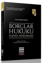 Savaş Yayınevi - Savaş Yayınları Borçlar Hukuku Genel Hükümler Altın Seri 23. Baskı Ağustos 2020