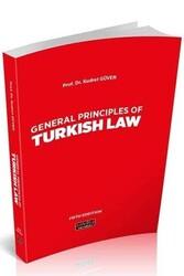 Savaş Yayınevi - Savaş Yayınları General Principles Of Turkish Law