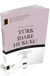Savaş Yayınevi - Savaş Yayınları İİBF SBF MYO lar İçin Türk İdare Hukuku
