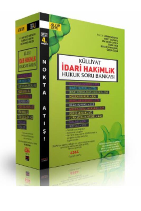 Savaş Yayınları KÜLLİYAT İdari Hakimlik Hukuk Soru Bankası Mayıs 2021
