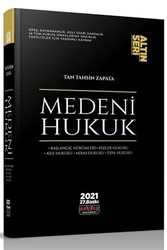 Savaş Yayınevi - Savaş Yayınları Medeni Hukuk Konu Anlatımı Altın Seri 27. Baskı 2021