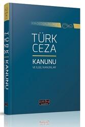 Savaş Yayınevi - Savaş Yayınları Türk Ceza Kanunu ve İlgili Mevzuat