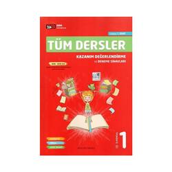 SBM Yayıncılık - SBM Yayınları 1. Sınıf Tüm Dersler Kazanım Değerlendirme ve Deneme Sınavları
