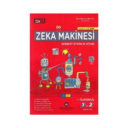 SBM Yayıncılık - SBM Yayınları 1. ve 2. Sınıf Zeka Makinesi Serbest Etkinlik Kitabı