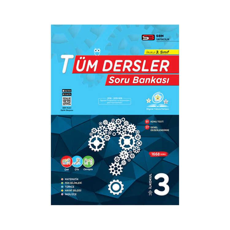 SBM Yayınları 3. Sınıf Tüm Dersler Soru Bankası