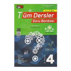 SBM Yayıncılık - SBM Yayınları 4. Sınıf Tüm Dersler Soru Bankası