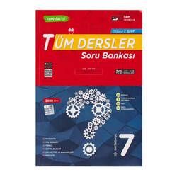 SBM Yayıncılık - SBM Yayınları 7. Sınıf Tüm Dersler Soru Bankası