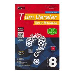 SBM Yayıncılık - SBM Yayınları 8. Sınıf Tüm Dersler Soru Bankası