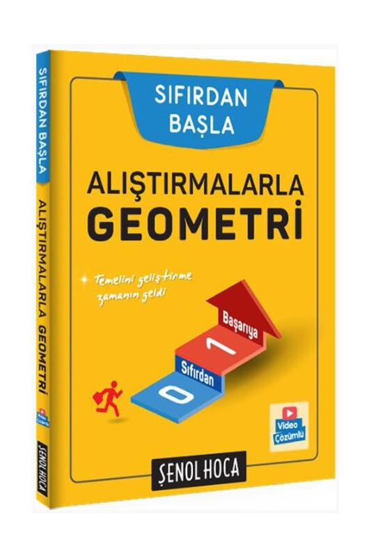 Şenol Hoca Yayınları Alıştırmalarla Geometri