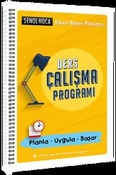 Şenol Hoca Yayınları - Şenol Hoca Yayınları Ders Çalışma Programı