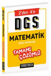 Şenol Hoca Yayınları - Şenol Hoca Yayınları DGS Matematik Tamamı Çözümlü Soru Bankası