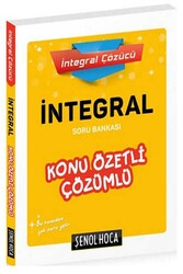 Şenol Hoca Yayınları - Şenol Hoca Yayınları İntegral Konu Özetli Çözümlü Soru Bankası