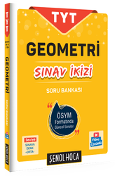 Şenol Hoca Yayınları - Şenol Hoca Yayınları TYT Geometri Sınav İkizi Soru Bankası