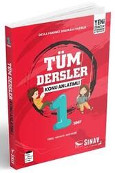 Sınav Dergisi Yayınları - Sınav Yayınları 1. Sınıf Tüm Dersler Konu Anlatımlı