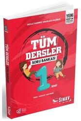 Sınav Dergisi Yayınları - Sınav Yayınları 1. Sınıf Tüm Dersler Soru Bankası