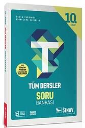 Sınav Dergisi Yayınları - Sınav Yayınları 10. Sınıf Tüm Dersler Soru Bankası