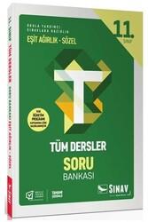 Sınav Dergisi Yayınları - Sınav Yayınları 11. Sınıf Tüm Dersler Eşit Ağırlık Sözel Soru Bankası