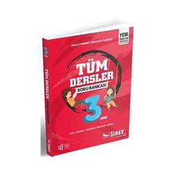 Sınav Dergisi Yayınları - Sınav Yayınları 3. Sınıf Tüm Dersler Soru Bankası