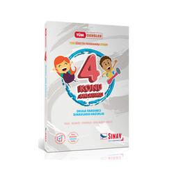 Sınav Dergisi Yayınları - Sınav Yayınları 4. Sınıf Tüm Dersler Konu Anlatımlı
