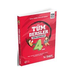 Sınav Dergisi Yayınları - Sınav Yayınları 4. Sınıf Tüm Dersler Soru Bankası